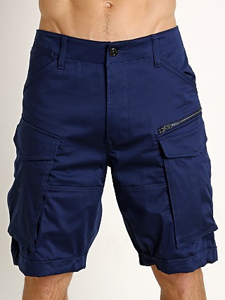 G-Star Rovic Loose Cargo Shorts Imperial Blue