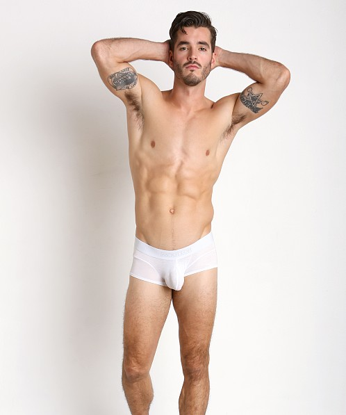 McKillop Max Bulge Modal Boxer with C-Ring White