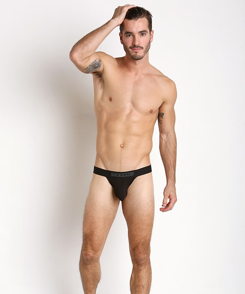 McKillop Max Bulge Modal Jock with C-Ring Black