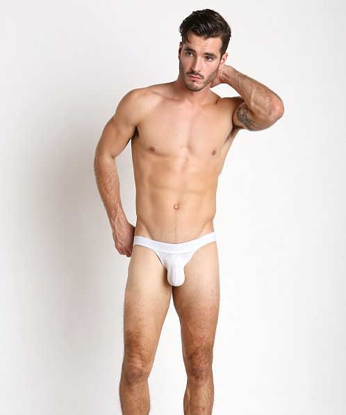 McKillop Max Bulge Modal Jock with C-Ring White