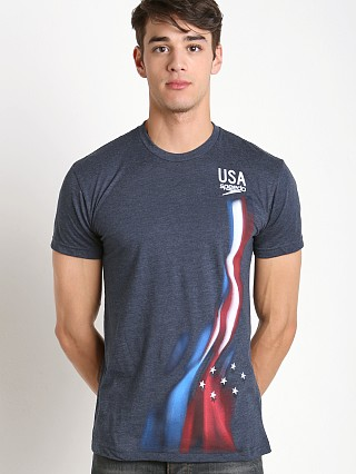 Speedo Replica Flag Warp Crew Neck Tee Red/White/Blue