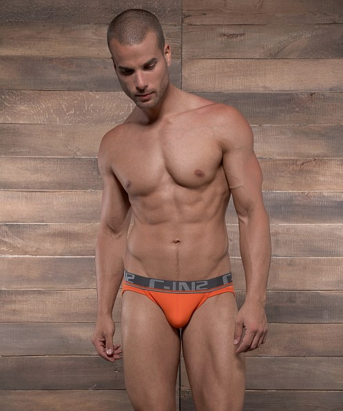 C-IN2 Pop Colors Sport Brief Flame Orange