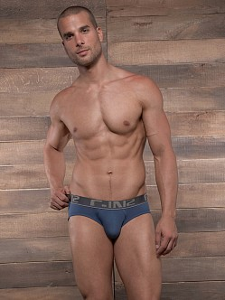 C-IN2 Pop Colors Lo No Show Brief Moony Blue