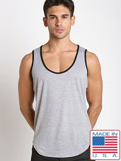 Pistol Pete Gunite Leisure Tank Top Gray