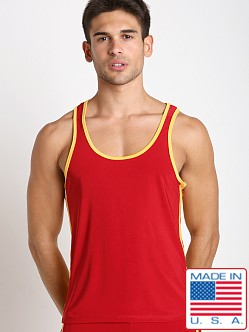 Pistol Pete Scrimmage Tank Top Red
