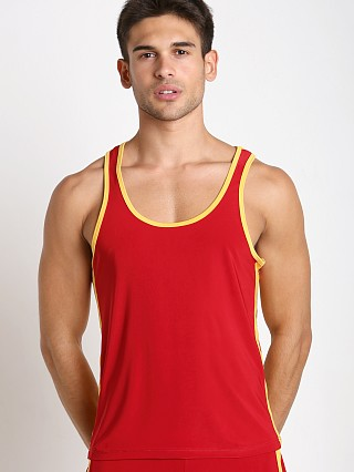 Complete the look: Pistol Pete Scrimmage Tank Top Red