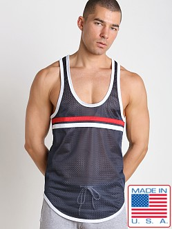 Pistol Pete Knockout Tank Top Navy