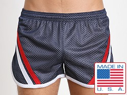 Pistol Pete Knockout 2 Tone Mesh Lined Short Navy