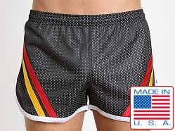 Pistol Pete Knockout 2 Tone Mesh Lined Short Black