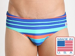 Pistol Pete Licorice Swim Brief Royal