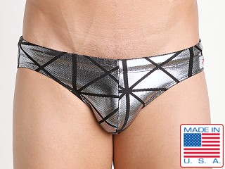 Pistol Pete Galactic Swim Brief Silver