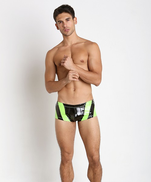 Pistol Pete Glow Swim Trunk Lime