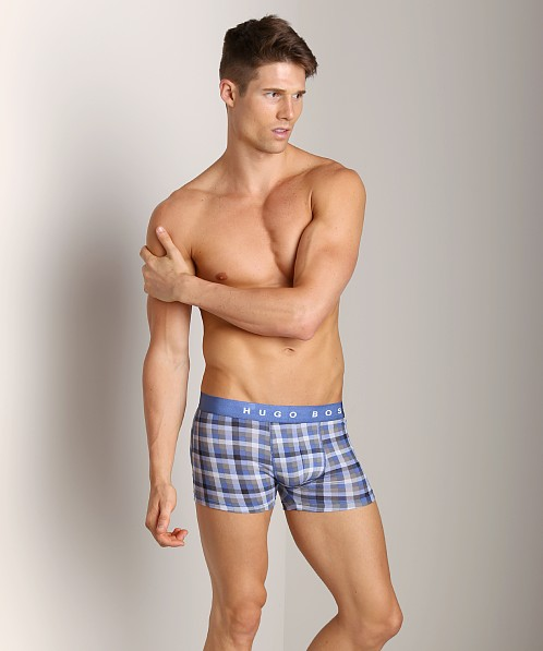 Hugo Boss Innovation 1 Plaid Trunk Blue