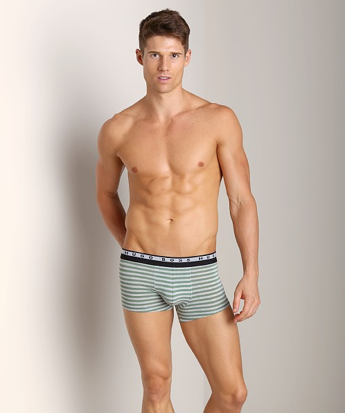Hugo Boss Innovation 3 Striped Trunk Green