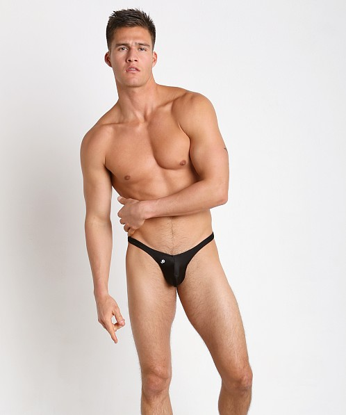 Joe Snyder MaxiBulge C-Ring Capri Bikini Black