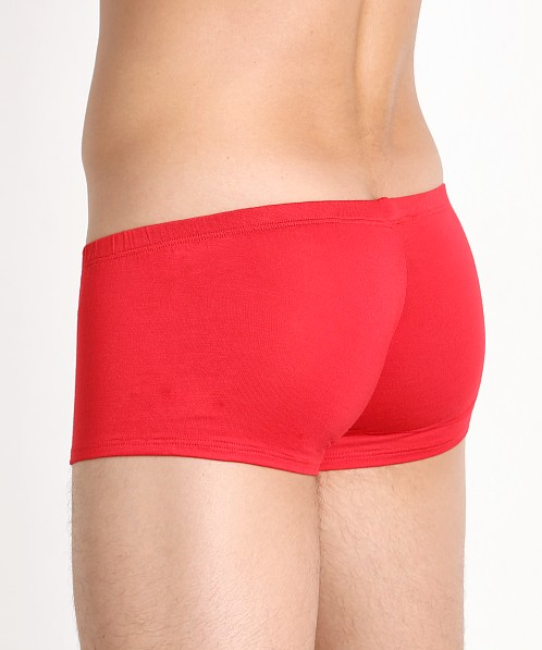 Mckillop Happy Balls Modal Low Rise Boxer Red