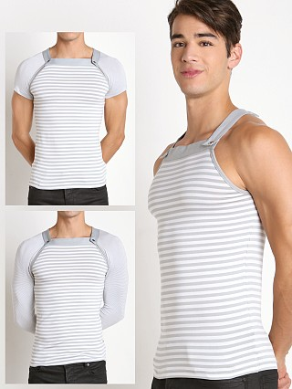 Modus Vivendi Wide Line 3-Part T-Shirt & Longsleeve Grey