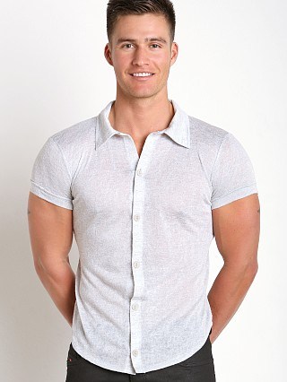 Modus Vivendi Flamme Burnout Shirt Grey