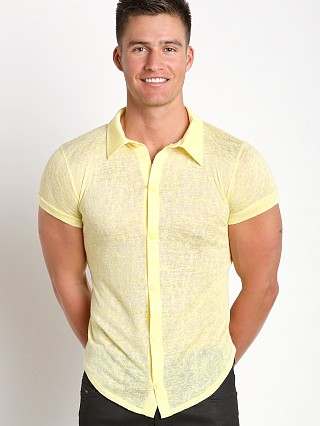 Modus Vivendi Flamme Burnout Shirt Yellow