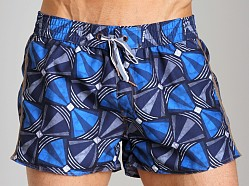 Diesel Bantu Coralrif Limited Edition Swim Shorts Blue