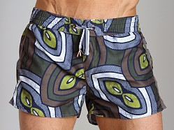 Diesel Bantu Coralrif Limited Edition Swim Shorts Green