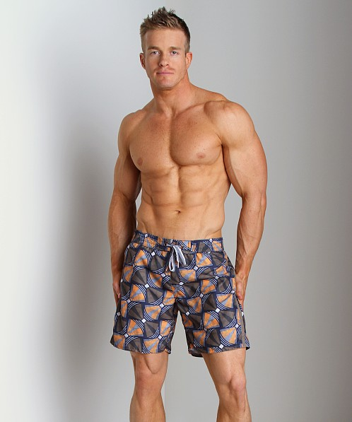Diesel Bantu Blans Limited Edition Swim Boxer Orange