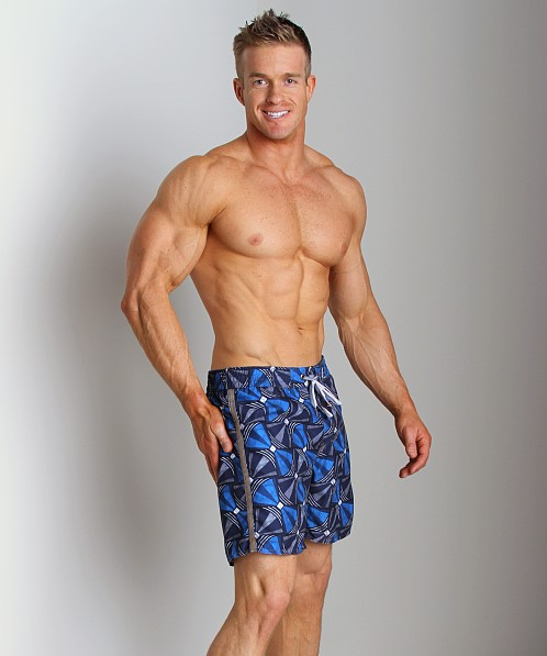 Diesel Bantu Blans Limited Edition Swim Boxer Blue