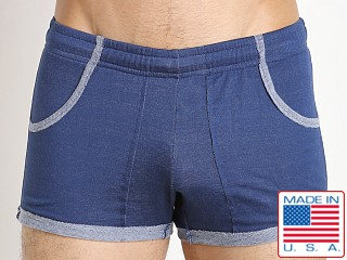 N2N Bodywear Gym Boy Slim Short Short Denim