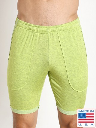 N2N Bodywear Gym Boy Slim Short Lime
