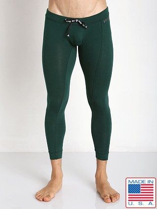 N2N Bodywear Cotton Sport Runner Hunter Green
