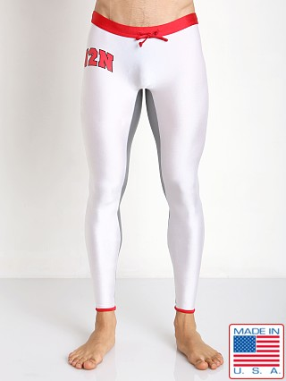 N2N Bodywear USA Runner White