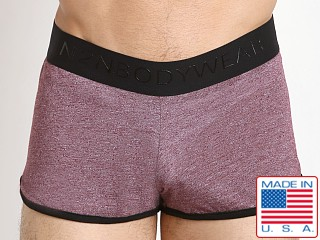 N2N Bodywear Lounge Sleeper Short Wine