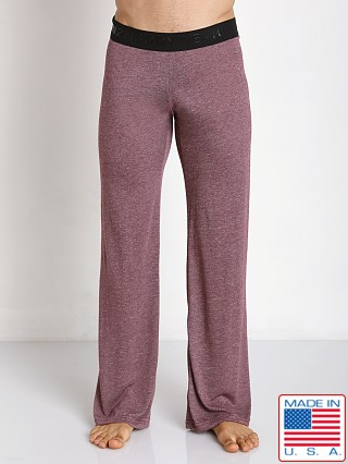 N2N Bodywear Lounge Sleeper Pant Wine