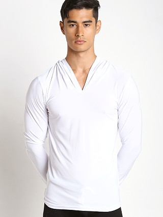 Complete the look: N2N Bodywear Dream Lounge Hoodie White