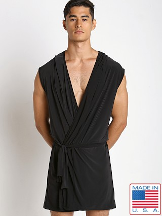 N2N Bodywear Dream Lounge Robe Black