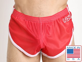 N2N Bodywear Euro Split Short Red