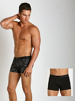 Levi's Underwear 200 Neats Series Trunks Two-Pack Black