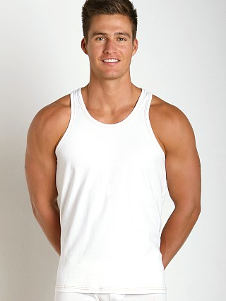 Levi's Underwear Linen Series Tank Top White