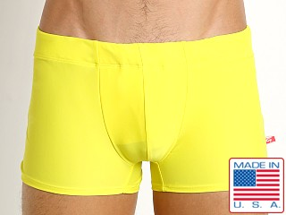 Go Softwear Tropical Square-Cut C-Ring Swim Trunk Lemon