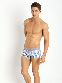 Mundo Unico Limay Trunk Grey/White Striped Print