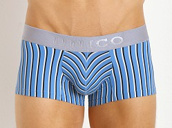 Mundo Unico Lennox Trunk Blue Striped Print