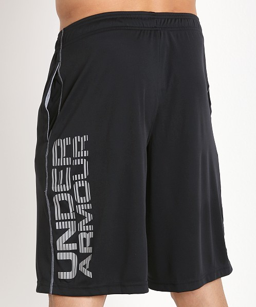 "Under Armour 10"" Tech Graphic Short Black/Steel"