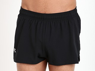 Under Armour Launch Side Split Running Short Black