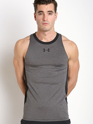 Under Armour Baseline Fitted Performance Tank Top Carbon Heather