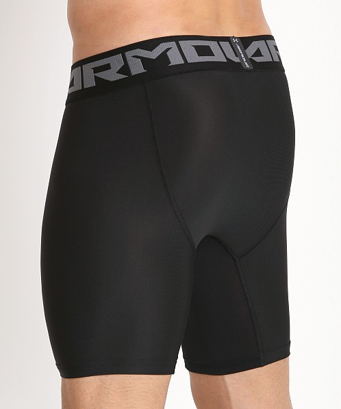 Under Armour 2.0 Mesh Front Compression Short Black