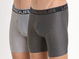 "Under Armour ""O"" Series 6"" Boxerjock 2 Pack Heathers"