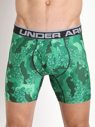 "Under Armour Original Printed 6"" BoxerJock Forest Green Camo"