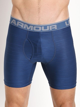 "Under Armour Original Printed 6"" BoxerJock Blackout Navy"