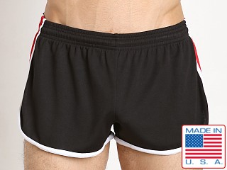 Pistol Pete Bolt Short Poly Dry Fit Black/Red