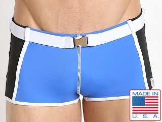 Pistol Pete Primetime Belted Swim Trunk Royal